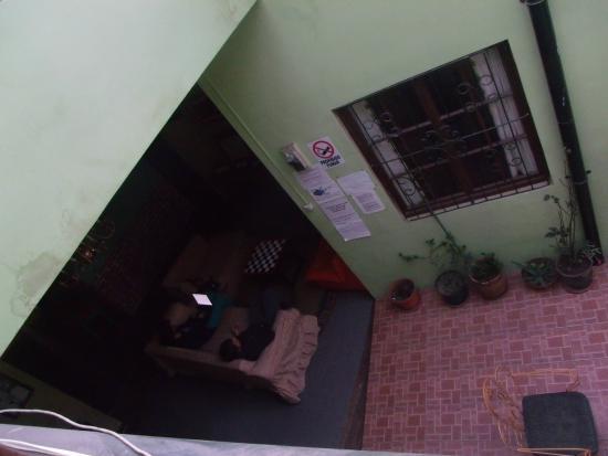 Bash and Crash Hostel: sala de TV