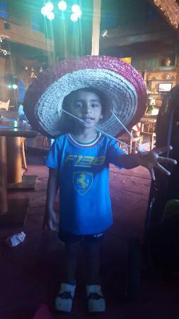 Mexican Restaurant: My little boys birthday
