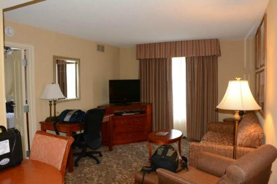 Homewood Suites by Hilton Asheville- Tunnel Road : Large and comfortable