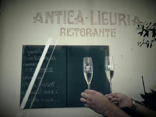 Ristorante Antica Liguria: Focaccia buonissima!
