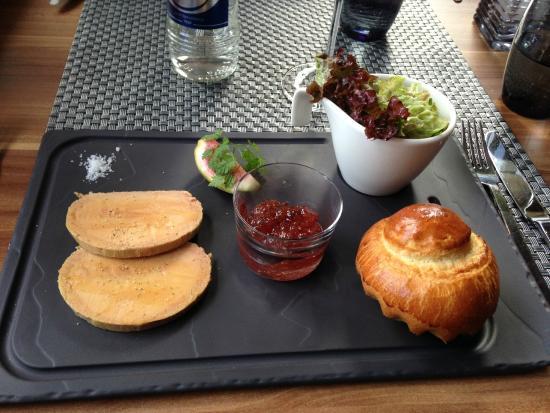 Wormeldange, Luxemburg: Foie gras