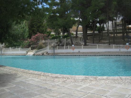 vistas desde la piscina alicun de las torres