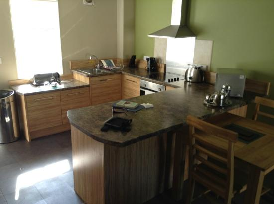 Bluestone National Park Resort Kitchen In 1 Bedroom Cottage