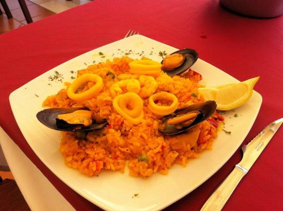 Bistro del Puerto : Paella