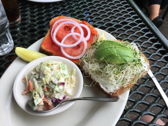 Tavern of Northfield: Avocado cream cheese veggie sandwich