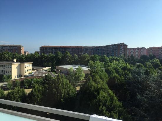 Idea Hotel Torino Mirafiori: Vista dalla camera