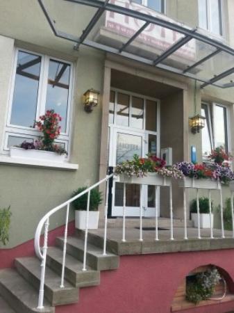 Hotel Pfaffenmühle: вход в отель