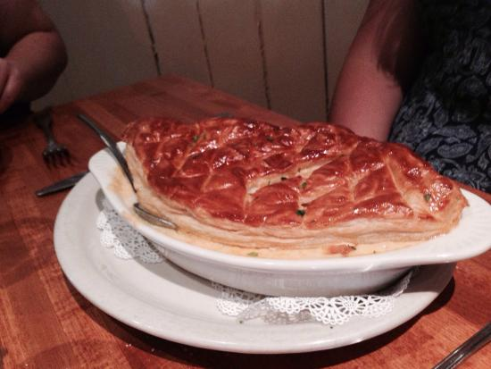 Lobster pot pie picture of hot fish club murrells inlet for Fish pot pie