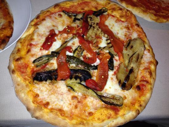 Vecchio Mulino: pizza vegetariana