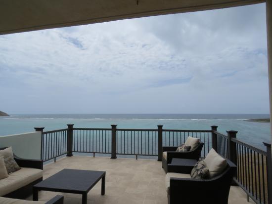 South Sound, Virgin Gorda: Balcony off of the living room