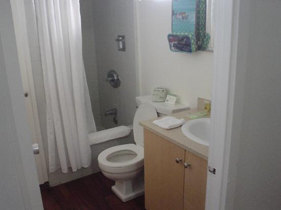 ホリデイ サーフ ホテル , トイレとシャワー