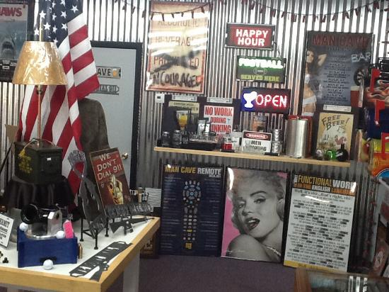 Man Cave Metal : Bar accessories picture of man cave metal pigeon forge tripadvisor