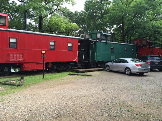 Caboose Junction Resort: Green caboose was ours