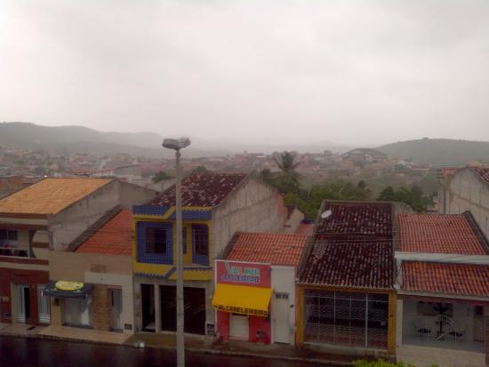 Porto Da Folha, SE: Vista do quarto.