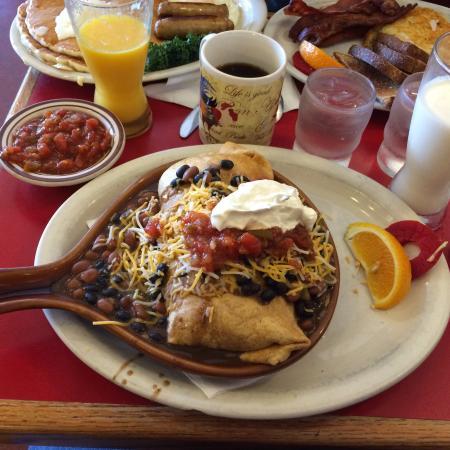 Long Beach, WA: Breakfast Burrito