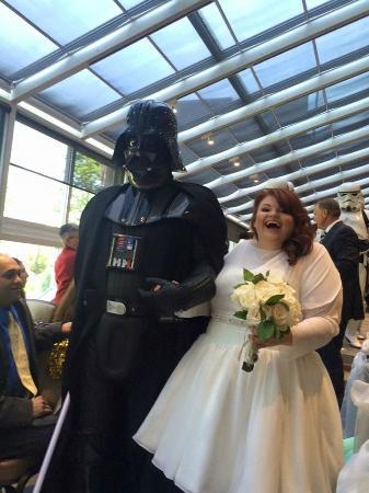 Wedding Ceremonty in the Atrium