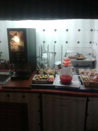 Chiazza: Area da cozinha
