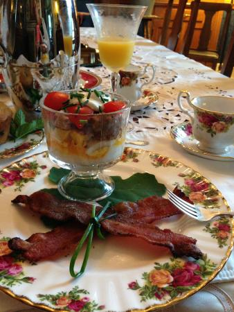 A. C. Stickley Bed and Breakfast: Breakfast trifle