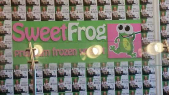 Sweet Frog Frozen Yogurt: Just the cutest place ever!!