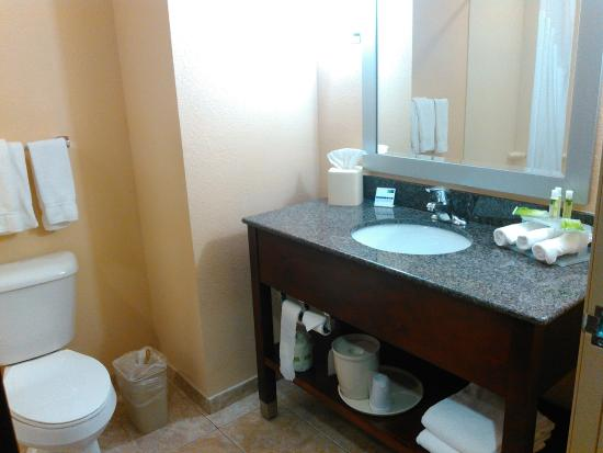 Holiday Inn Express Somerset: bathroom