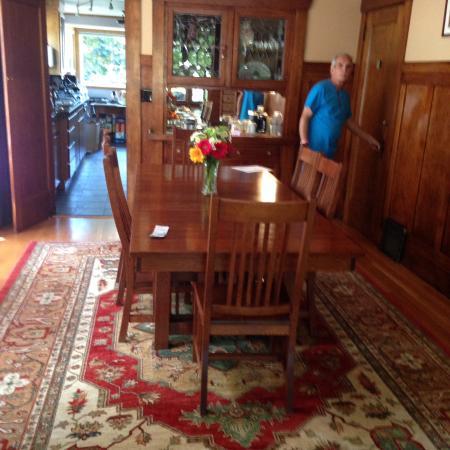 9 Cranes Inn: Dinning room