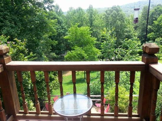Aska Lodge B&B : Springer Mountain Balcony View