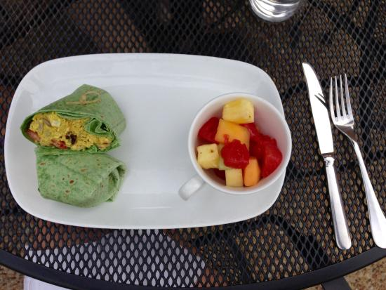 Cafe Caturra : Love this sandwich! The curry chicken wrap is the perfect summer day meal!