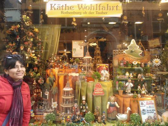 Kathe Wohlfahrt: Vitrina navideña