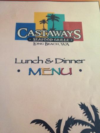 Long Beach, WA: Castaways Seafood Grille