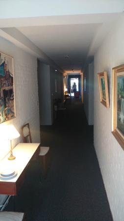 Hotel Camelot : Corredor dos Apartamentos