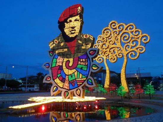 Managua Department, Nicaragua: Art in the park Managua Nicaragua