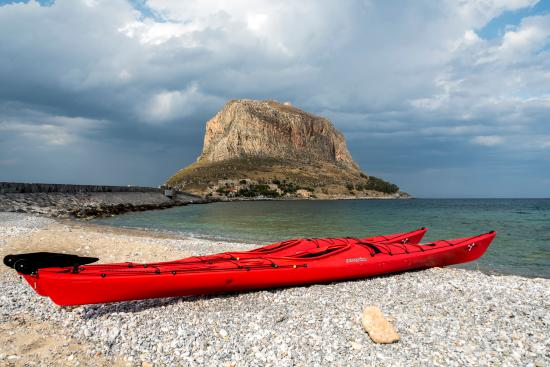 ‪Sea Kayaking in Monemvasia‬