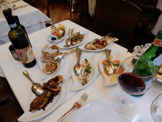 Il Coriandolo : Special seafood appetizer for two