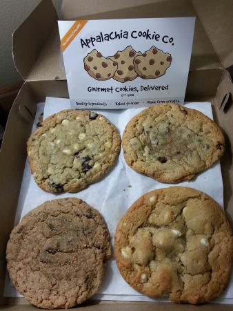 Appalachia Cookie Company began on a cold winter night in as a simple idea: gourmet cookies, delivered warm, to your door. Since that night, long hours were spent developing only the finest recipes.4/4(48).