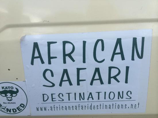 Kikuyu Lodge Hotel & Safaris: Our safari van organized by Kikuyu lodge