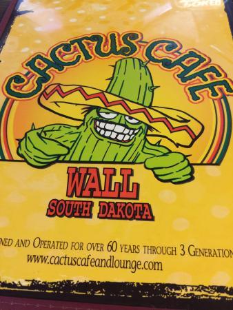Cactus Cafe & Lounge: Menu