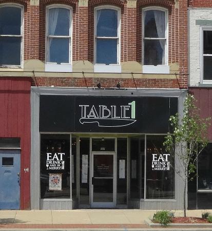 Table1: Restaurant Entrance