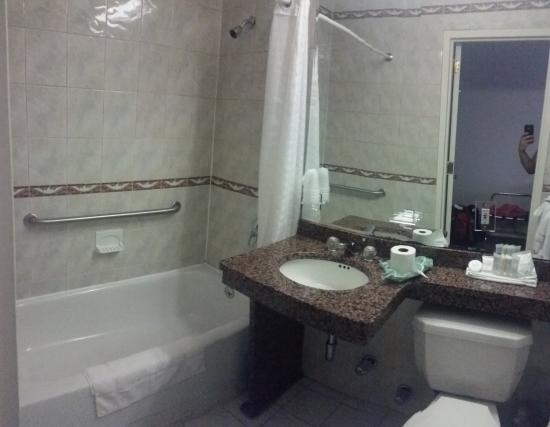 Chelsea Savoy Hotel: habitacion de bano