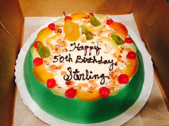 Angelo Brocato Ice Cream Look Where My 50th Birthday Cake Came From I Requested