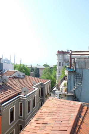 Old City Hostel: View from the hotel's terrace