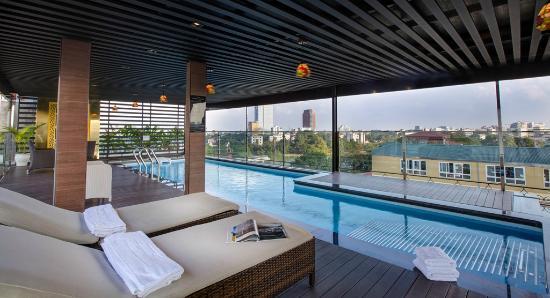 Swimming Pool Picture Of Golden Lotus Luxury Hotel Hanoi