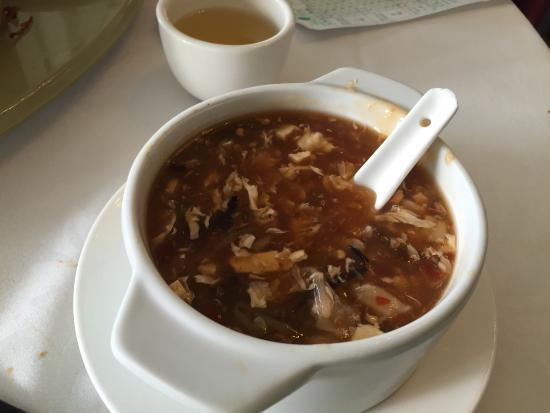 Gold Leaf: The hot n sour soup is very good.