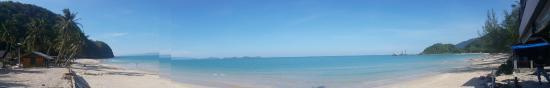Khanom, Thailand: The front beach