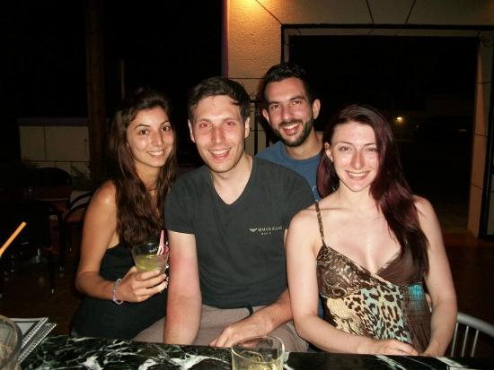 Valentino: Marianna,Alistair,Me and Alex!