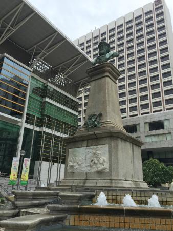 Vasco da Gama Monument in Macau