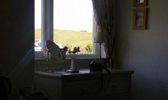 Borthwick View: View from bedroom window