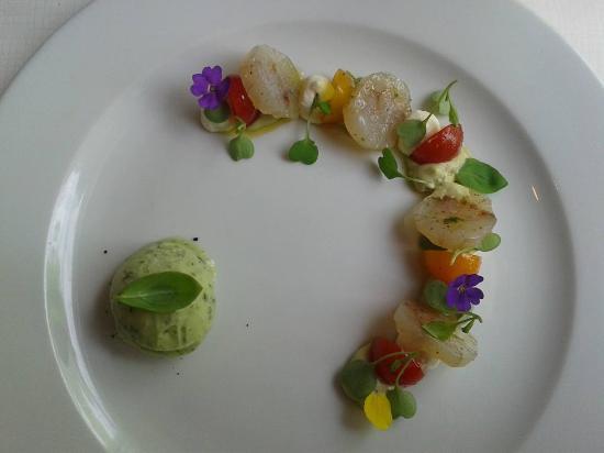 Sergio's: Marinated white fish