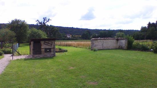 Doulaincourt-Saucourt, Frankrig: View from back verandah