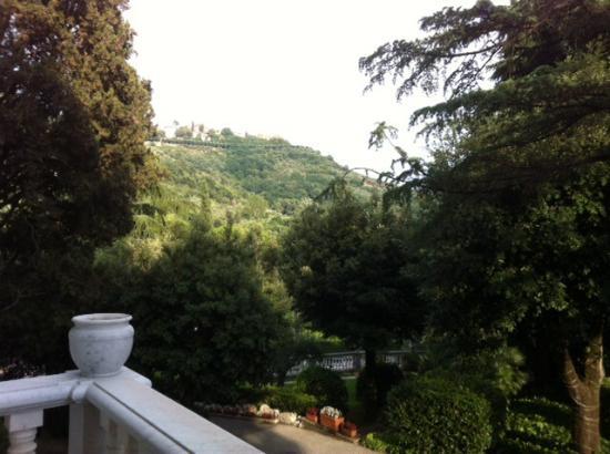 Hotel Villa Maria: Вид с балкона