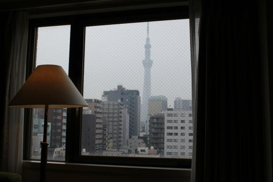 Hotel Sunroute Asakusa: View from room